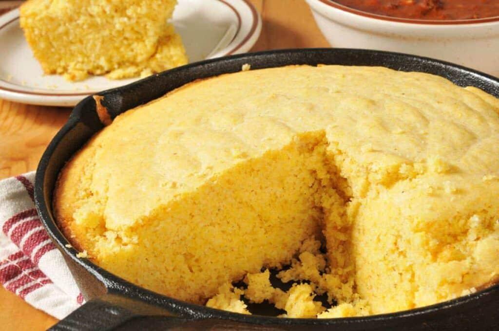 receta Pan de Elote sin Harina
