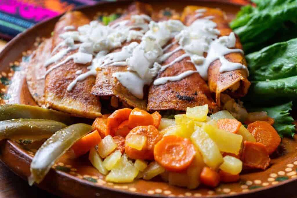 receta de enchiladas queretanas