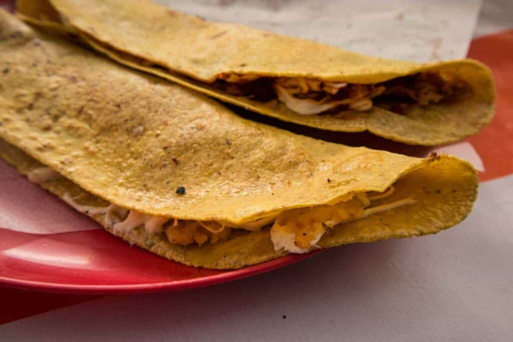 receta de quesadillas de maiz