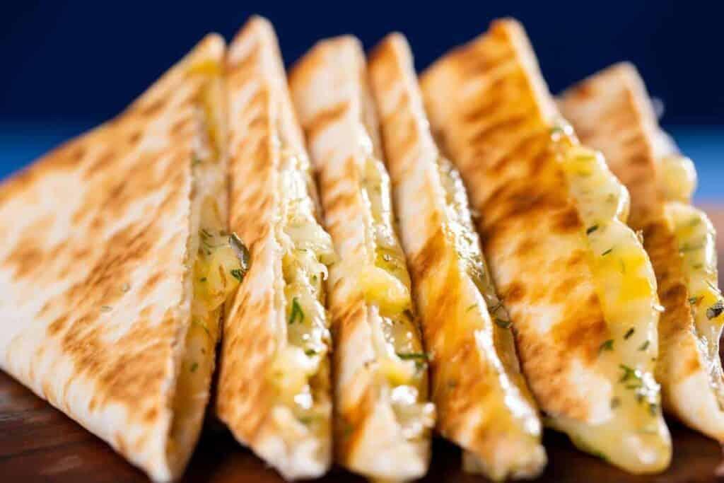 receta de quesadillas de queso