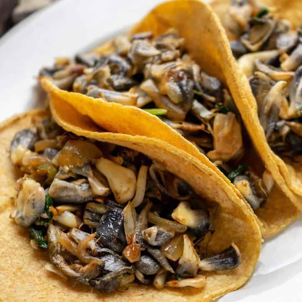 receta de quesadillas huitlacoche