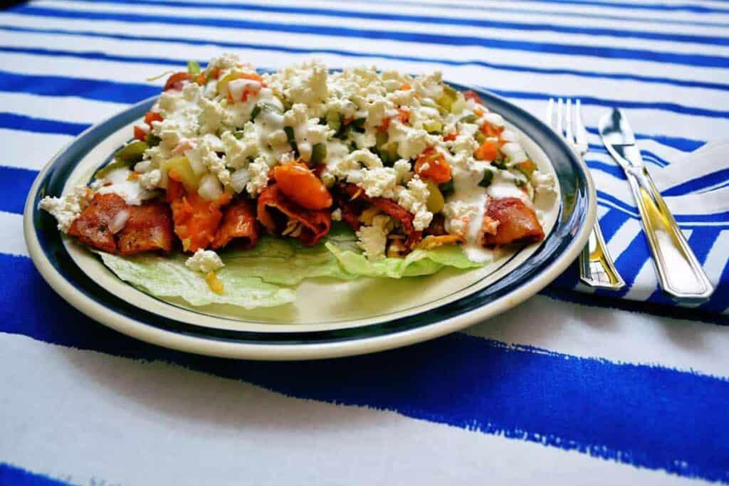 receta de enchiladas mineras
