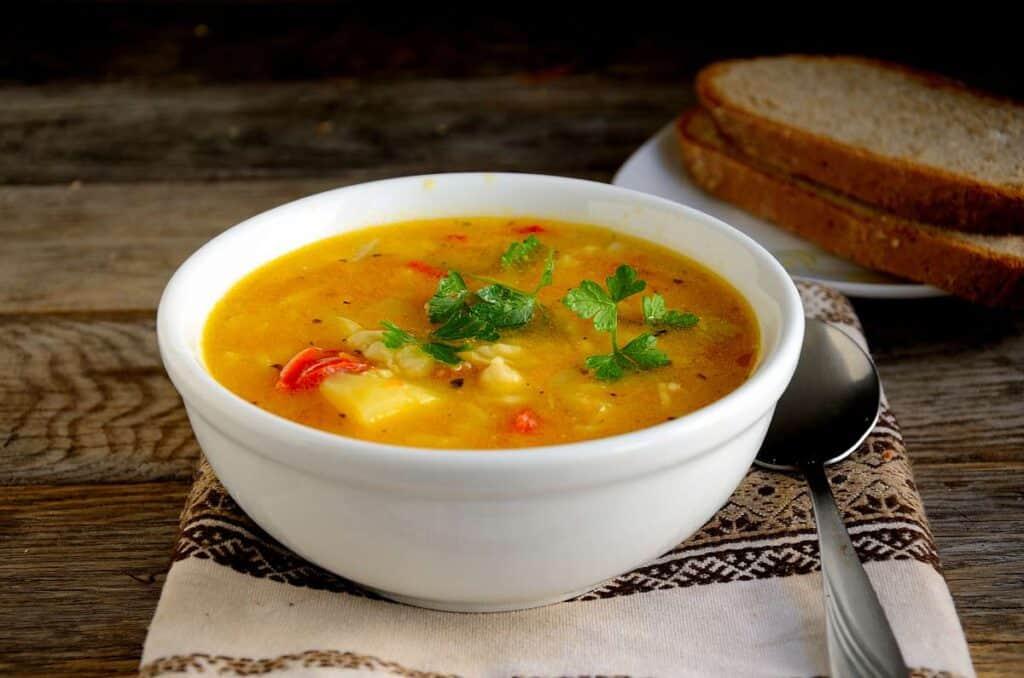 receta de sopa de papas